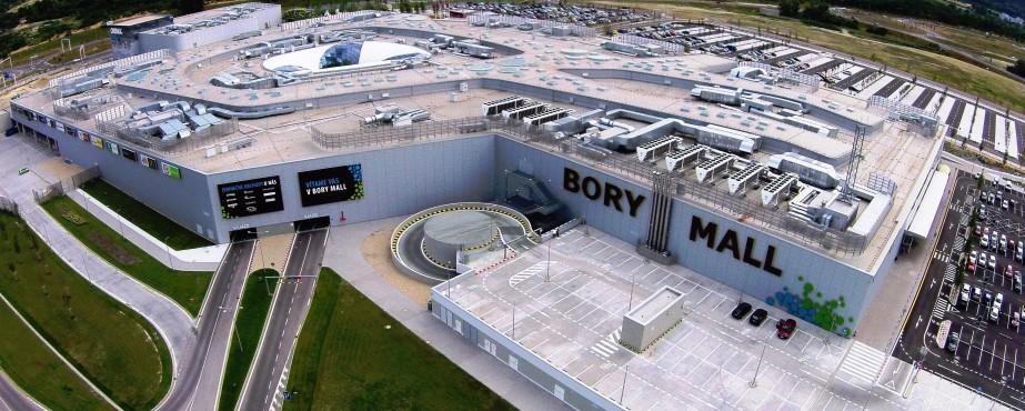 1. Obchodné centrum Bory Mall, Lamač, Bratislava, 2014