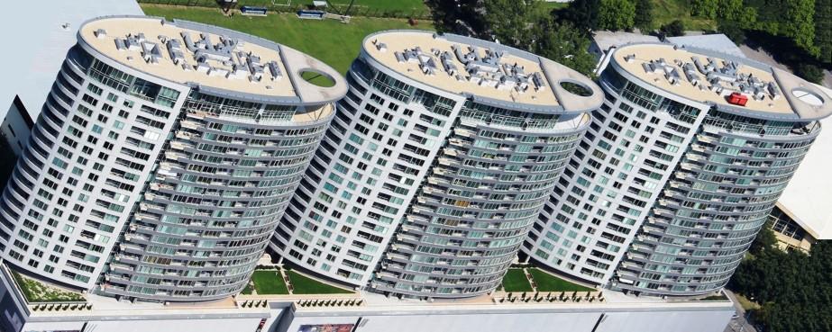 2. Bytový komplex III Veže, Bajkalská ul., Bratislava, 2009