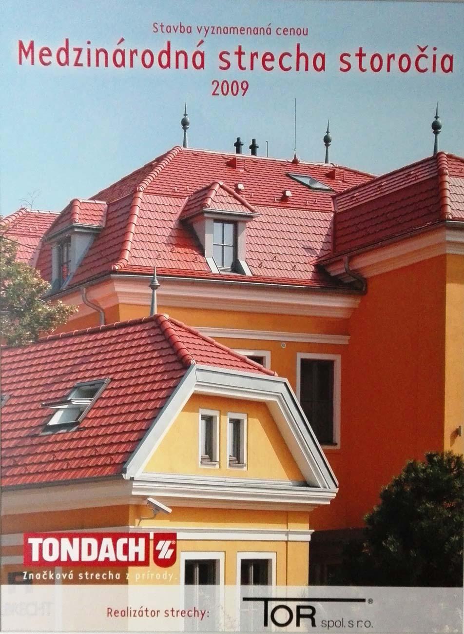 Medzinárodná strecha storočia 2009